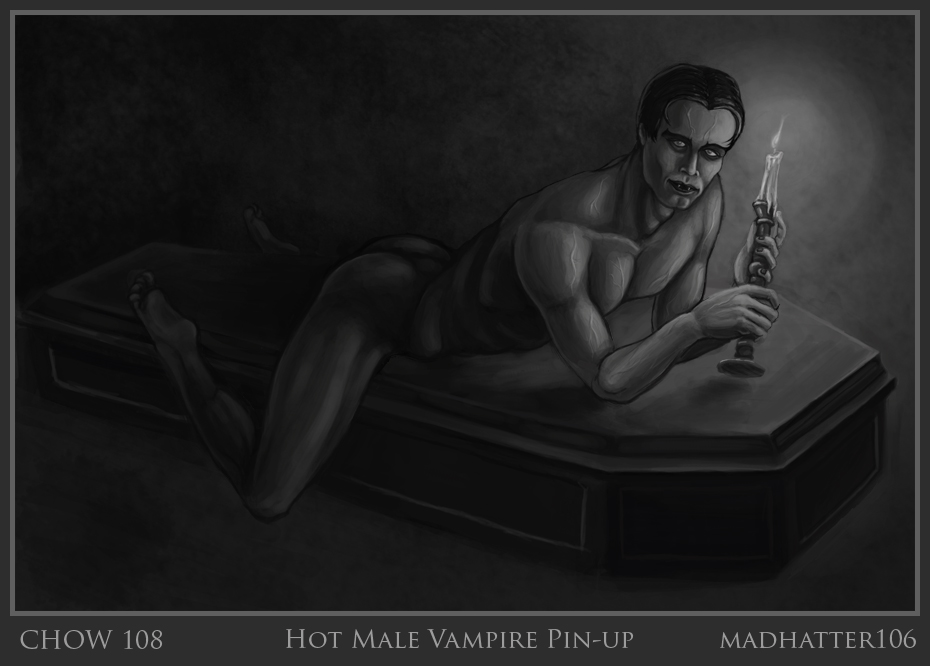 Chow 108 :: VOTING :: Hot Male Vampire Pinup